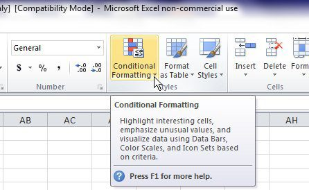 how to make cells go away in excel