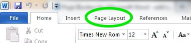 borders for word documents - page layout tab
