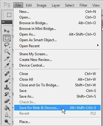 how to reduce size of pdf photoshop