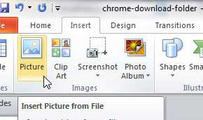 how to insert a gif into powerpoint 2010