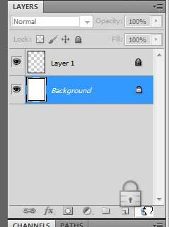 how to unlock a layer in photoshop cs5
