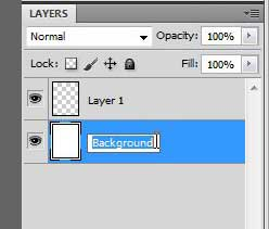 rename the unlocked background layer