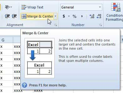 how to enlarge a cell in Excel 2010