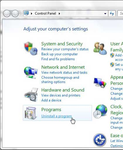 how to uninstall an add on in internet explorer 9