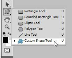 photoshop custom shape tool