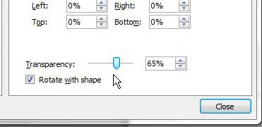 how to change transparency of a picture in powerpoint