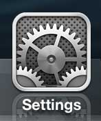 Open the Settings menu