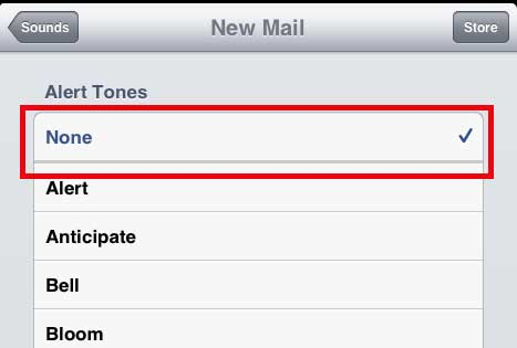 How to Turn Off the Email Notification Sound on the iPad 2