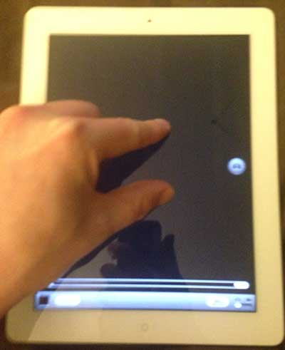 how to zoom on the ipad 2 camera