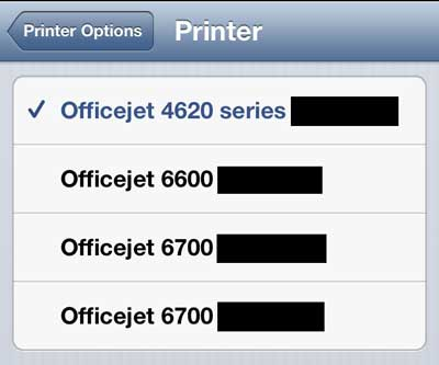 how to add a printer to my iphone