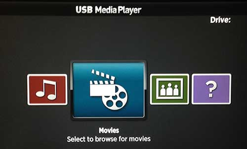 how to access a usb hard drive from the roku 3
