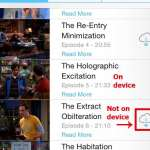 how to delete a tv show episode in ios 7 on iphone 5
