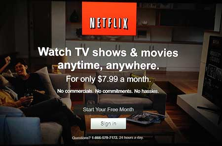 how to forget password for netflix sign in