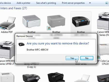 how to connect a brother printer to a mac