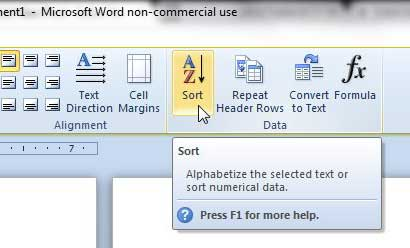 how to delete rows in indented word document